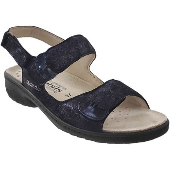 Chaussures Femme Sandales et Nu-pieds Mobils By Mephisto Getha Marine cuir