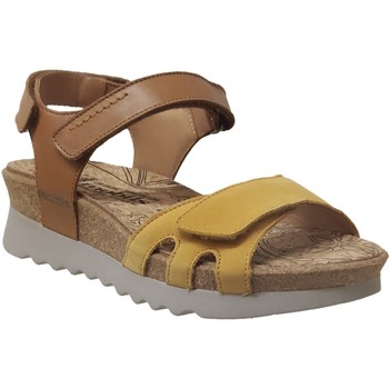 Chaussures Femme Sandales et Nu-pieds Mobils By Mephisto Quirina Jaune nubuck