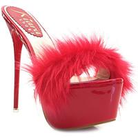 Chaussures Femme Sandales et Nu-pieds Kiara Shoes KH104 Rouge