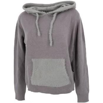 Vêtements Femme Pulls Lcouture Mohair cap  w gris Gris clair