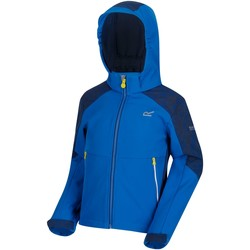 Vêtements Enfant Coupes vent Regatta Veste technique junior Softshell ASTROX II Bleu