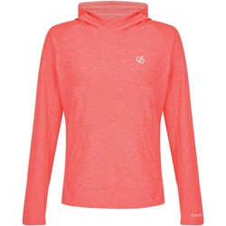 Vêtements Femme Pulls Dare 2b Sweat capuche technique SPRINT CITY Orange Orange