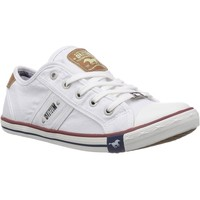 Chaussures Homme Baskets mode Mustang 4058-305 blanc