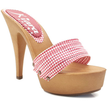 Chaussures Femme Sandales et Nu-pieds Kiara Shoes K9301 Rouge