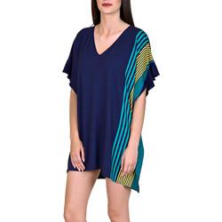 Vêtements Femme Tuniques Lisca Caftan de plage Dominica bleu Bleu