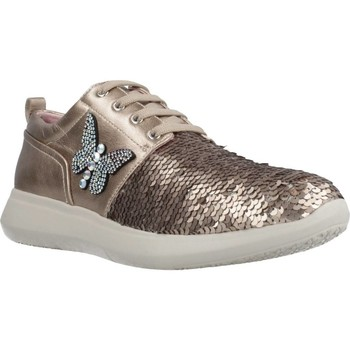 Chaussures Femme Baskets basses Stonefly FLUT 2 PAILL/G.LAMIN D´or