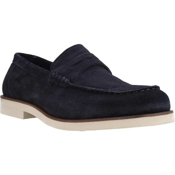 Chaussures Homme Mocassins Stonefly ANDREW 1(5644)VELOUR Bleu