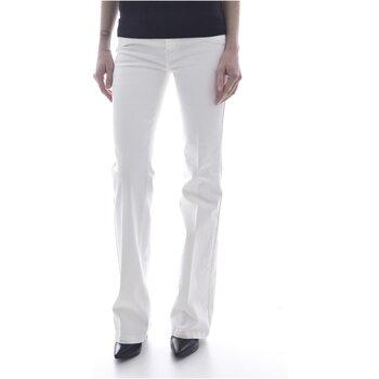 Vêtements Femme Jeans bootcut Guess W02A58 D2G6I SEXY BOOT Blanc