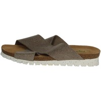 Chaussures Femme Mules Riposella C78 Marron Taupe