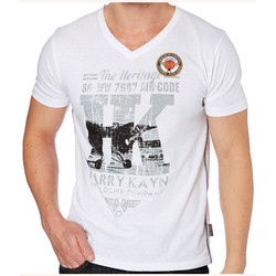 Vêtements Homme T-shirts manches courtes Harry Kayn -T-Shirt  Homme CEPALAN blanc