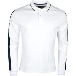 Vêtements Homme Polos manches longues La Martina Polo manches longues  Maserati pour homme Blanc