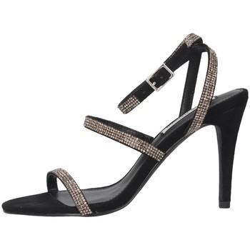 Chaussures Femme Sandales et Nu-pieds Steve Madden SMSEQUAL-BLKCRY Noir