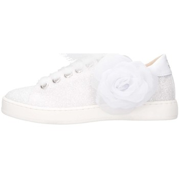 Chaussures Fille Baskets basses Florens K111852B blanc