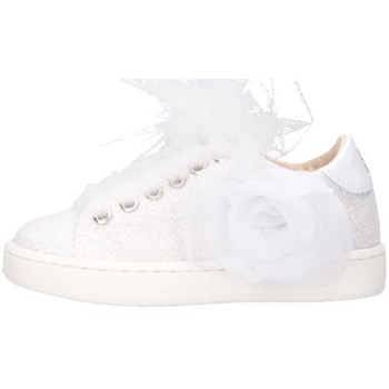 Chaussures Fille Baskets basses Florens J011852B blanc