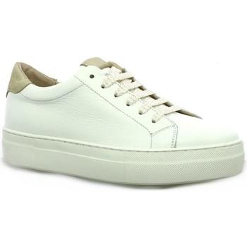 Chaussures Femme Baskets basses So Send Baskets cuir  /sable Blanc/sable