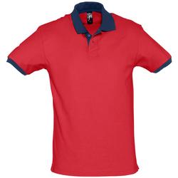 Vêtements Polos manches courtes Sols PRINCE COLORS Rojo