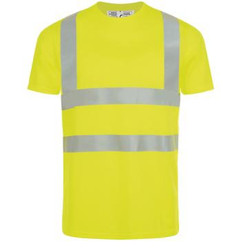 Vêtements Homme T-shirts manches courtes Sols MERCURE PRO VISIBLITY WORK Amarillo