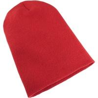 Accessoires textile Bonnets Yupoong Beanie Rouge