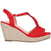 Chaussures Femme Espadrilles Chika 10 NADIA 10 Rojo