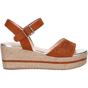 Chaussures Femme Espadrilles Chika 10 DONA 08 Marr?n