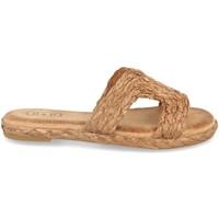 Chaussures Femme Espadrilles H&d BQ19-05 Camel