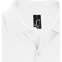 Vêtements Homme Polos manches courtes Sols PERFECT COLORS MEN Blanco