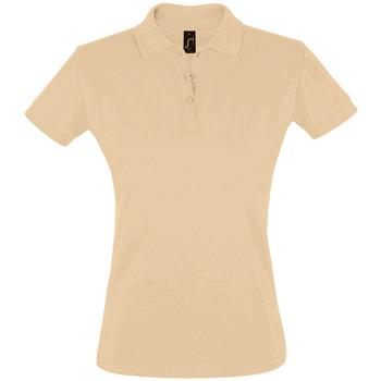 Vêtements Femme Polos manches courtes Sols PERFECT COLORS WOMEN Marr?n