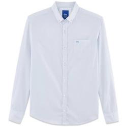 Vêtements Homme Chemises manches longues TBS IMMERCHA Bleu