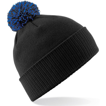 Accessoires textile Fille Bonnets Beechfield Snowstar Noir/bleu roi