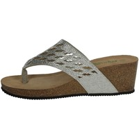 Chaussures Femme Tongs Riposella C8 Argent
