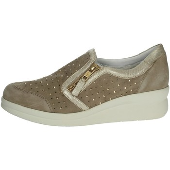 Chaussures Femme Slip ons Riposella C217 Beige