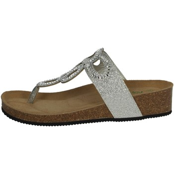 Chaussures Femme Tongs Riposella C17 Argent