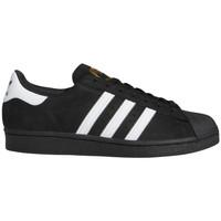 Chaussures Homme Chaussures de Skate adidas Originals Superstar adv Noir