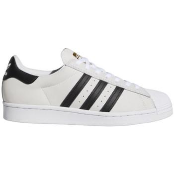 Chaussures Homme Chaussures de Skate adidas Originals Superstar adv blanc