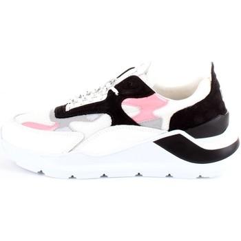 Chaussures Femme Baskets basses Date D.A.T.E. W321-FG-NK-WP Baskets femme blanc blanc