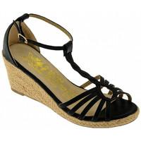 Chaussures Femme Sandales et Nu-pieds Xti 27724 Talon compensé Noir