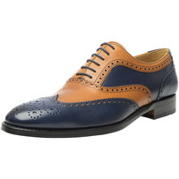 Chaussures Homme Richelieu Shoepassion Chaussures basses N° 382 Braun / Blau