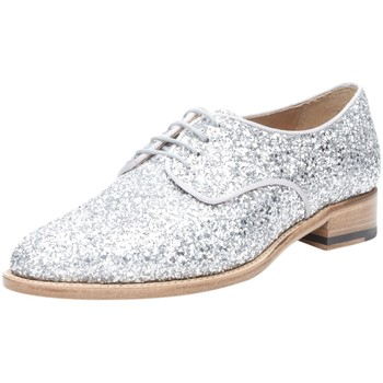 Chaussures Femme Derbies Shoepassion Chaussures à lacets No. 114 Silber