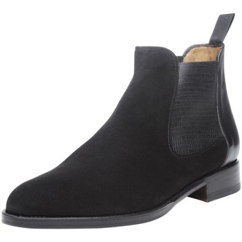 Chaussures Femme Boots Shoepassion Bottes No. 2300 Schwarz