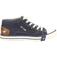 Chaussures Homme Baskets montantes Mustang 4072-505 bleu