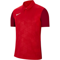 Vêtements Homme T-shirts manches courtes Nike Trophy IV Jersey Rot