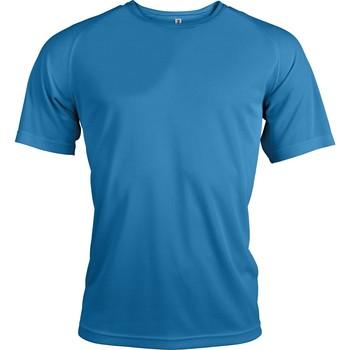 Vêtements Homme T-shirts manches courtes Proact T-Shirt manches courtes  Sport bleu ciel
