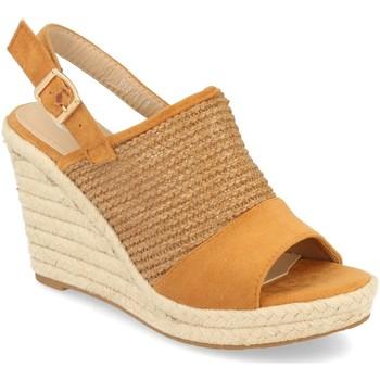 Chaussures Femme Espadrilles Festissimo F20-3 Camel