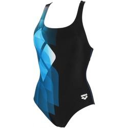Vêtements Femme Maillots de bain 1 pièce Arena Mirrors swim pro back Noir