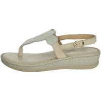 Chaussures Femme Sandales et Nu-pieds Riposella C451 Beige/Or