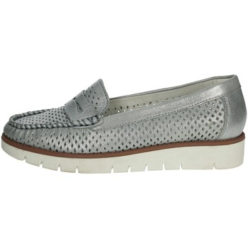 Chaussures Femme Mocassins Riposella C251 Argent