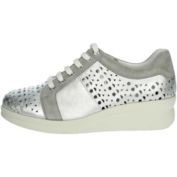 Chaussures Femme Baskets basses Riposella C233 Argent