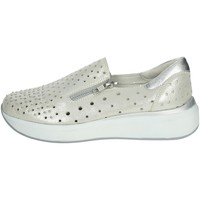 Chaussures Femme Mocassins Riposella C208 Argent