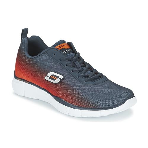 Chaussures-de-sport Skechers EQUALIZER Marine / Orange 350x350