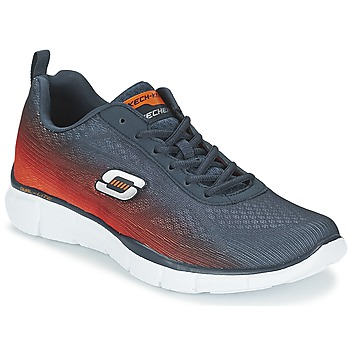 Chaussures-de-sport Skechers EQUALIZER Marine / Orange 350x350